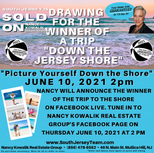 Tune in to the live drawing on Nancy Kowalik Real Estate Group's Facebook Page June 10 at 2pm