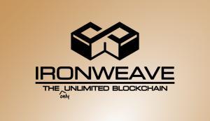 IronWeave blockchain logo and tagline