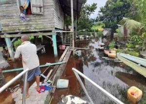 Flood in Guyana