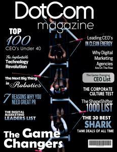 The DotCom Magazine Game Changers Edition