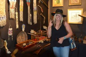 Native American artifacts are among the show's mainstays.