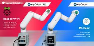 elephant robotics mycobot m5 and pi display