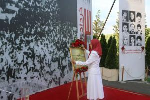 June 20, 2021 - Iran - Celebrating The 40th Anniversary Of The Start Of The Nationwide Resistance - Maryam Rajavi.