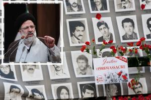 """June 23, 2021 - Ebrahim Raisi, a member of the 1988 Massacre's """"Death Commission"""" assigned as the highest judicial position within the regime."""