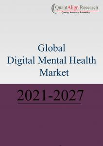 Global Digital Mental Health Market Demand Outlook, COVID-19 Impact, Trend Analysis By Deployment (Mental Health Chatbots, Tele psychiatry, Mindfulness & Meditation Apps, Mobile / Platform Based CBT, VR/AR Based Therapy), By Component, By Software Service