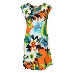 Waiola Orange Sherry Dress