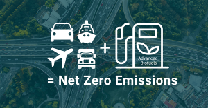 Advanced Biofuels - Delivering Net-Zero Emissions
