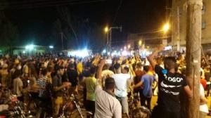 July 18, 2021 - Terrified of the spread of the popular uprising, the suppressive forces opened fire on the protesters in many areas and fire teargas to disperse them. During Friday night's protests, the IRGC shot to death one of the protesters, Mostafa Na
