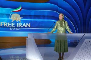 19 July, 2021 - Mrs. Maryam Rajavi, the NCRI's President-elect delivered a keynote address on each of the event's three days. Her final speech, in particular, emphasized the regime's abysmal human rights record, the likelihood of further deterioration und