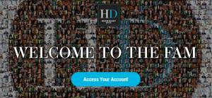 client entry point to the Hennessey Digital Platform