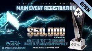 Trofi Juara Poker Perguruan Tinggi Dunia