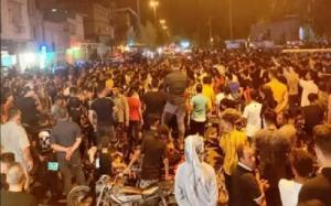 Week-long protests in the oil-rich Khuzestan province in Iran since July 15, 2021, over severe water shortages caused by the IRGC's criminal negligence & corruption.