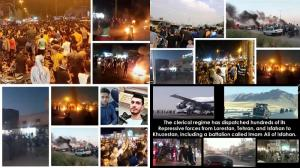 """July 21, 2021 - On Tuesday, July 20, thousands of Izeh residents protested against lack of water, chanting, """"Death of the dictator, death of Khamenei."""" The State Security Force (SSF) arrested a number of the protesters, which further enraged the citizens."""