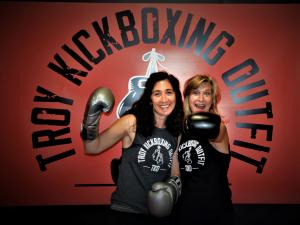 Troy Kickboxing Outfit Founders, Danielle Favret and Leasa Williams
