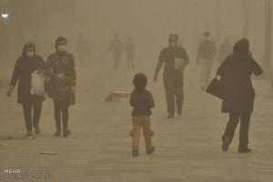 July 25, 2021 - Dust storms in Iran as a result of regime's mismanagement has become a severe environmental problem, endangering many's lives.