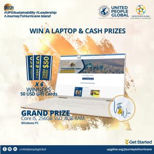 Grand Prize for Voters in the #JourneyToHurricane Campaign