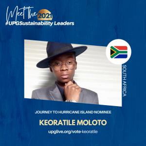 Keoratile Moloto - Vote for UPGSustainability Leader