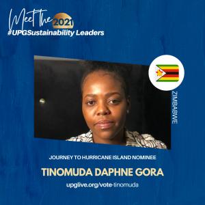 Tinomuda Daphne Gora - Vote for UPGSustainability Leader
