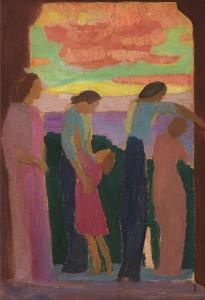Maurice Denis oil painting