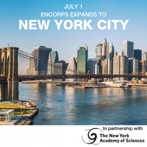 EnCorps STEM Teaching Fellowship Expands to NYC