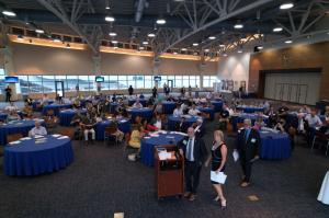 Aerial Perspective of the Summit meeting of 150 Hampton Roads UxS Leaders and Innovators.