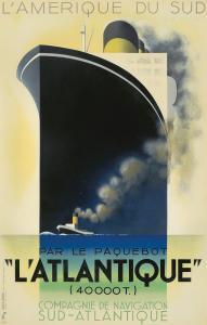 A. M. Cassandre, L'Atlantique. 1931. $48,000.