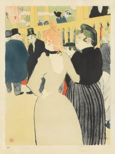Henri de Toulouse-Lautrec, La Goulue et sa Sœur. 1892. $78,000.