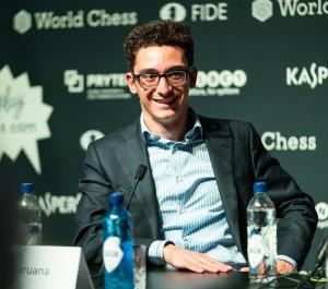Chess Grandmaster Fabiano Caruana 2018