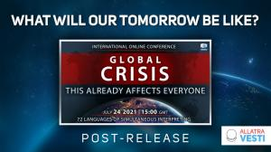 GLOBAL CRISIS. THIS ALREADY AFFECTS EVERYONE