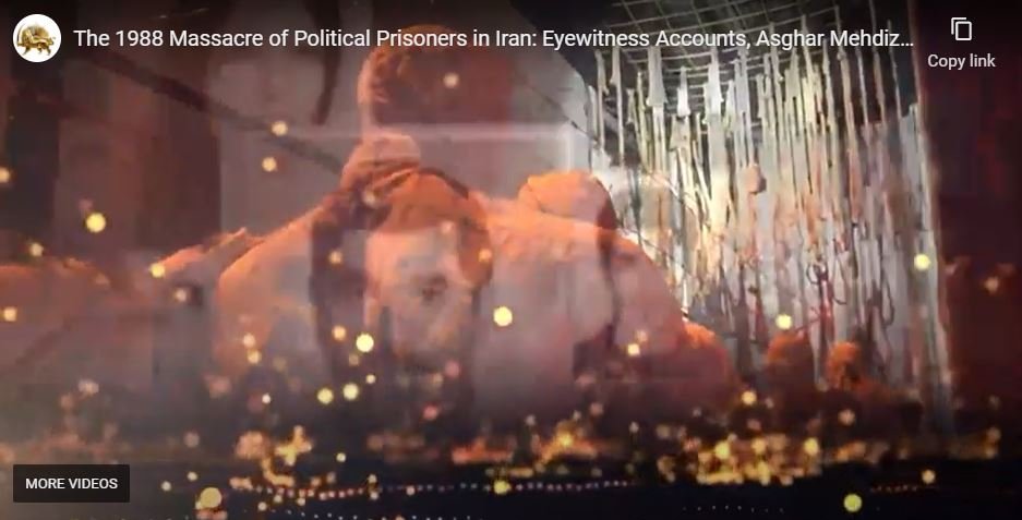 24th August, 2021 - Upon Khomeini's fatwa, 'Death Commissions' were formed in Tehran and across Iran. The prisoners were brought before the Commission (three to four members), and their fates were decided in a few minutes. Political prisoners who refused
