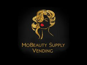 Beauty Supply Vending Machines filled with Black Beauty Supplies, Haircare, Cosmetics, Nails and more.- Mobeauty Logo