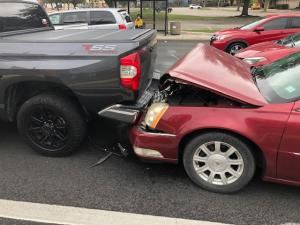 Rear-end accidents injure thousands of people each year, sometimes seriously. perfect