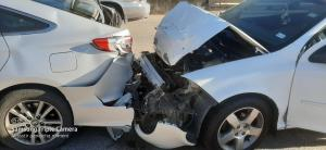 Rear End Accidents Cause Significant front end and rear end damage to all vehicles involved in a rear-end collision.
