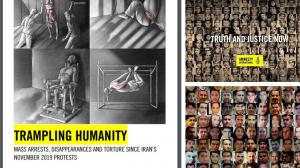 September 13, 2021 - Amnesty International reports shocking human rights violations by the Iranian regime.