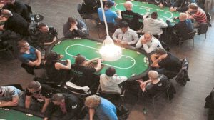 Image of Players at Secaucus Rotary Club Poker Tournament Fundraiser