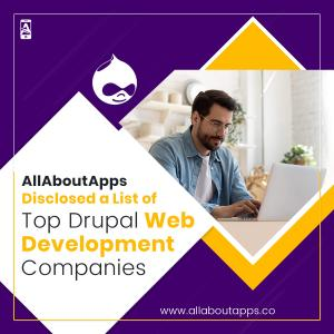 AllAboutApps Unveiled List of Top Drupal Web Development Companies in 2021