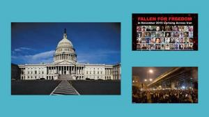 September 17, 2021 - (NCRI) and (PMOI / MEK Iran): The US House of Representatives passed a resolution, condemning the Iranian regime and drew attention to the regime's terrorist activities across the Middle East and beyond.