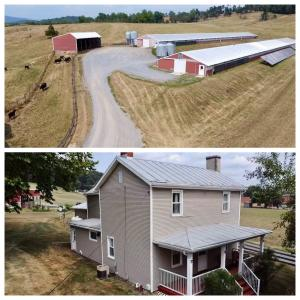 47.9 +/- acre farm -- 2 operational poultry houses -- $100,000+ in solar panels that power the farm -- New 80KW generator -- 4 BR/1 BA home -- Multiple outbuildings, barn, hay storage, litter shed, generator shed & 2 car detached garage -- Fencing