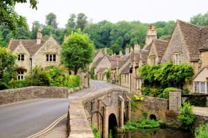 Cotswold village of Castle Combe, England