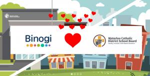 The Waterloo Catholic District School Board embraces multilingual online learning by choosing Binogi Canada Ltd.'s successful educational platform.