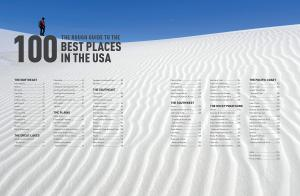 Sample page of the Rough Guide to the 100 Best Places in the USA