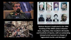 September 24, 2021 - Mohsen Rezaee is implicated in the 1994 bombing of the AMIA center in Buenos Aires,Argentina.
