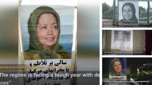 """September 25, 2021 - Tehran— """"The regime is facing a tough year with deadly consequences"""""""