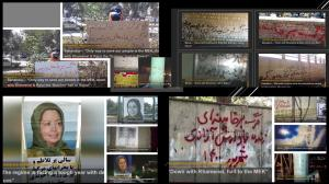 September 25, 2021 - The vast activities of the MEK's Resistance Units inside Iran pointed out that the main cause of country's fifth peak is nothing but the inhuman policies of regime's Supreme leader Ali Khamenei who banned the import of WHO-approved va