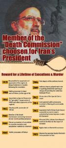 """September 25, 2021 - Ebrahim Raisi, a member of the 1988 Massacre's """"Death Commission"""" assigned as the highest judicial position within the regime."""