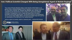 September 27, 2021 - Kaveh Lotfolah Afrasiabi, an Iranian-American political scientist accused of not registering foreign assets before writing news articles.