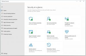 Windows Security Window in Windows 11