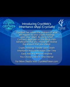 cryosafe cryogen bsc binance