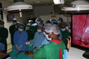 Laparoscopic Training at World Laparoscopy Hospital