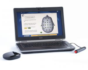 eVox is a hardware/software system that measures brain health